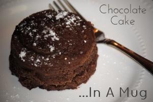 Chocolate Cake In A Mug Desserts