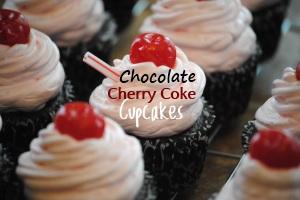 Chocolate Cherry Coke Cupcakes Desserts