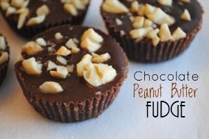 Chocolate Peanut Butter Fudge Desserts