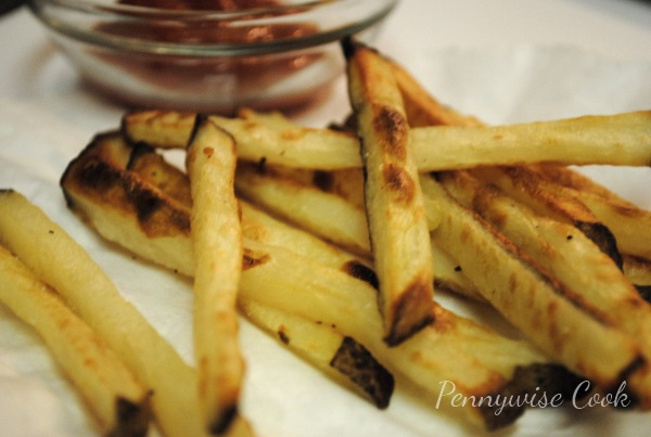 Crispy Homemade Oven Fries
