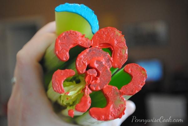 3 Kid Friendly Craft: Celery Art