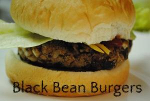 Black Bean Burgers Main Dishes