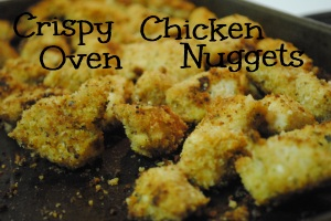 Crispy Oven Baked Chicken Nuggets