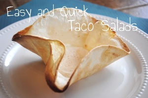 Easy and Quick Taco Salads Main Dishes