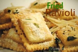 Fried Ravioli Appetizers