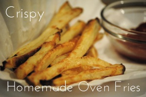 Homemade Oven Fries Side Dishes
