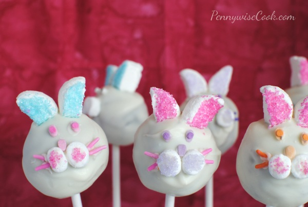 Bunny Brownie Pops