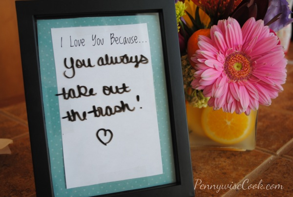 DIY I Love You Because Sign | Pennywise Cook