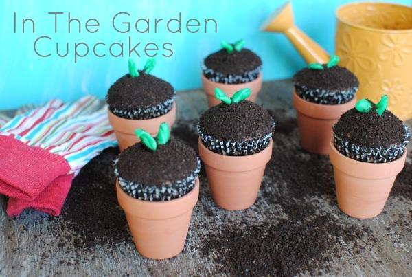 In The Garden Cupcakes 2 In The Garden Cupcakes