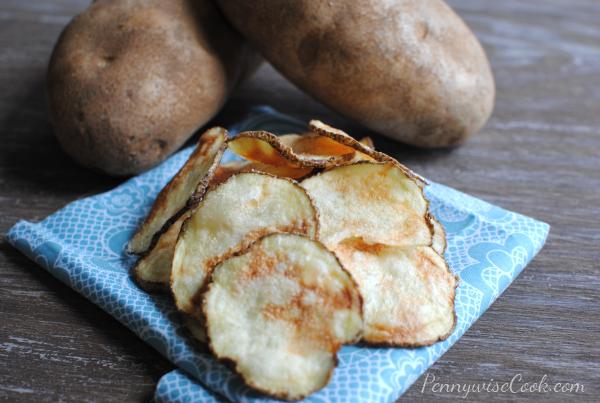 Microwave Potato Chips 1 Easy Microwave Potato Chips