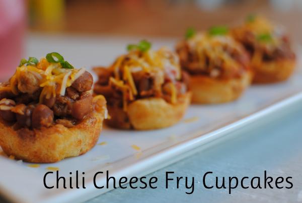 Chili Cheese Fry Cupcakes 4 Chili Cheese Fry Cupcakes