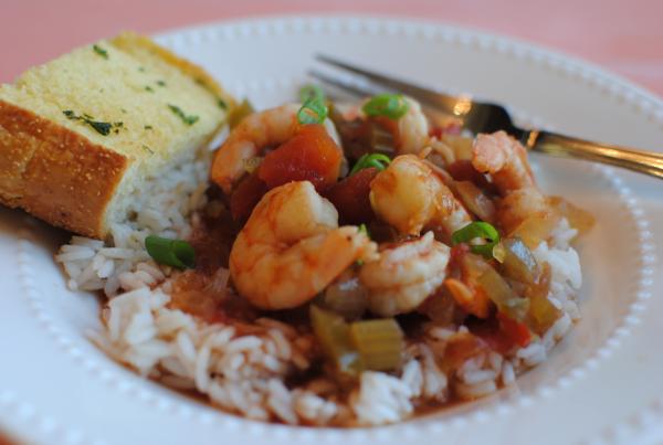 Crockpot Shrimp Creole