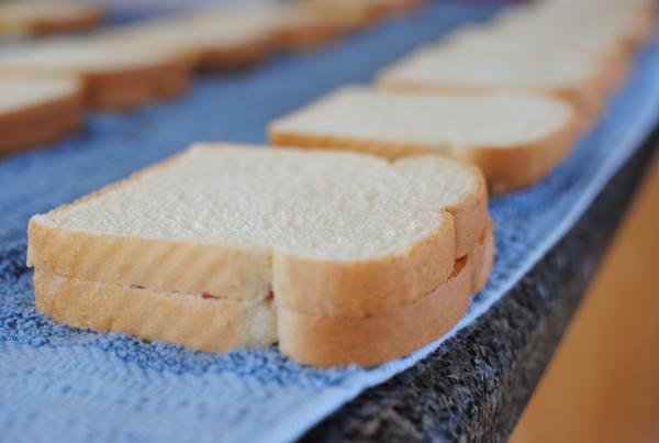 Freezer PB J 7 Freezer Peanut Butter and Jelly Sandwiches