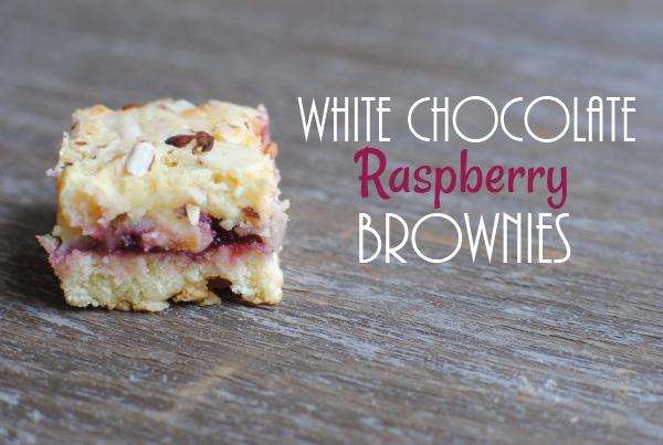 White Chocolate Raspberry Brownies White Chocolate Raspberry Brownies