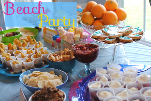 fugal beach party ideas pennywise cook