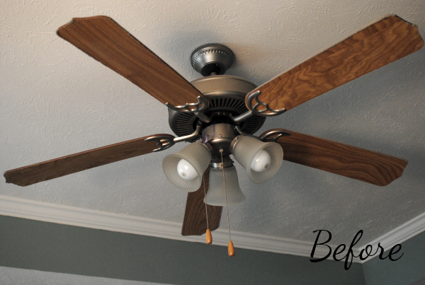 Before Fan This Makeover Has Hit the Fan {Before & After}