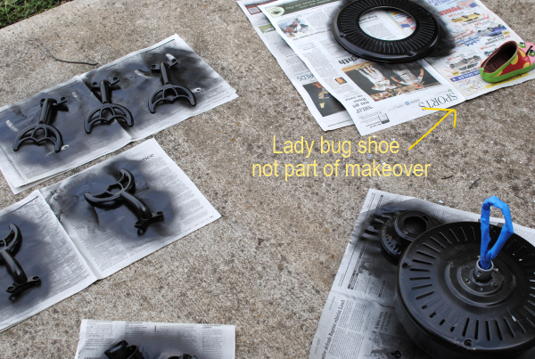 Spray Painting This Makeover Has Hit the Fan {Before & After}