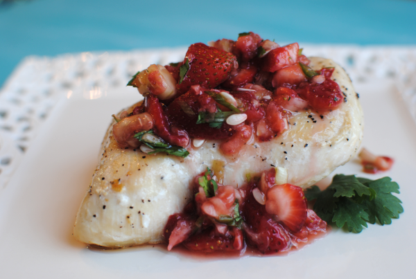 Strawberry Salsa Chicken