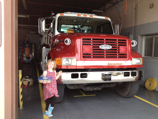 Cookies to Fire Station A Day of Random Acts of Kindness