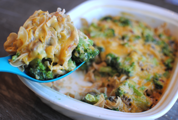 Cheesey Broccoli Tuna Casserole Cheesy Broccoli Tuna Casserole