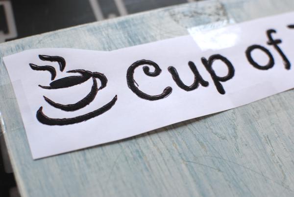 DIY Mug Holder 10 DIY Coffee Mug Holder