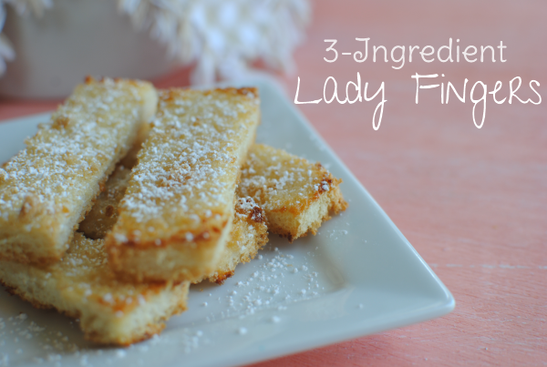 Lady Fingers 1 3 Ingredient Lady Fingers