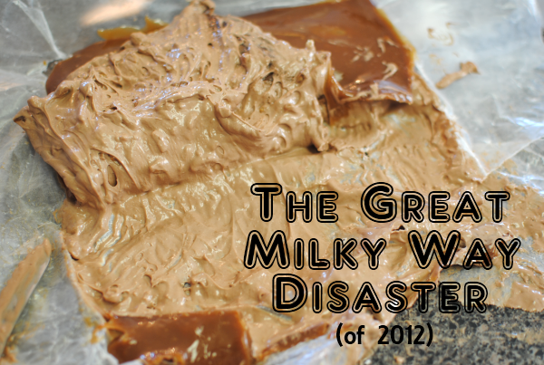 Milky Way Disaster The Great Milky Way Disaster...(Vlog)