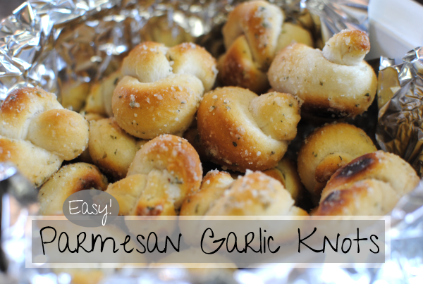 Parmesan Garlic Knots 1 Parmesan Garlic Knots
