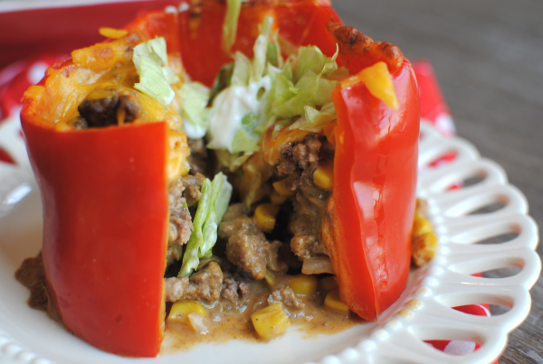 Taco Stuffed Peppers 1 Taco Stuffed Peppers
