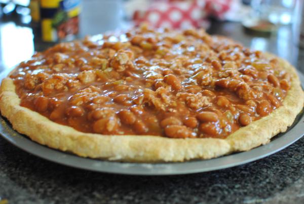 Chili Cheese Pizza 4 Chili Cheese Pizza