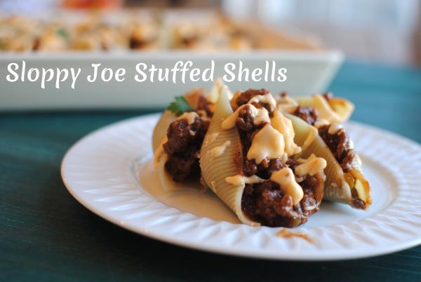 Sloppy Joe Stuffed Shells 4 Sloppy Joe Stuffed Shells