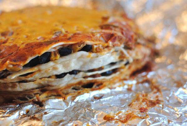 Slow Cooker Mexican Lasagna 3 Slow Cooker Mexican Lasagna