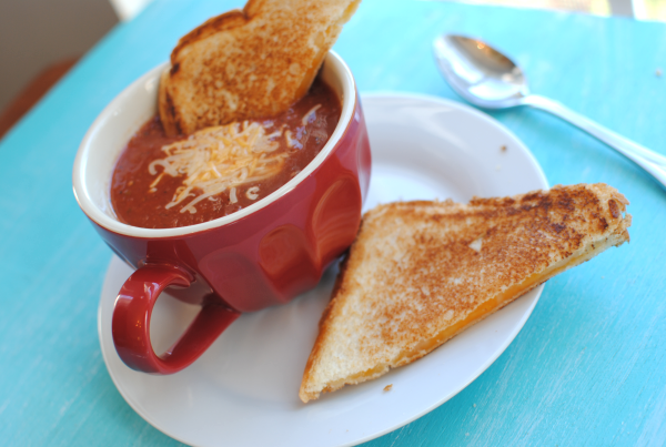 Homemade Tomato Soup 1 Homemade Tomato Soup
