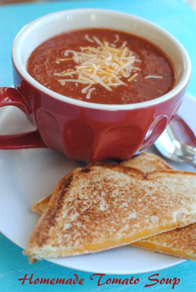Homemade Tomato Soup 2 Homemade Tomato Soup