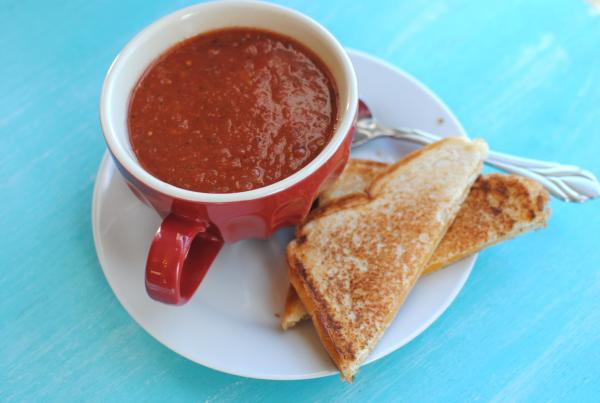Homemade Tomato Soup 3 Homemade Tomato Soup