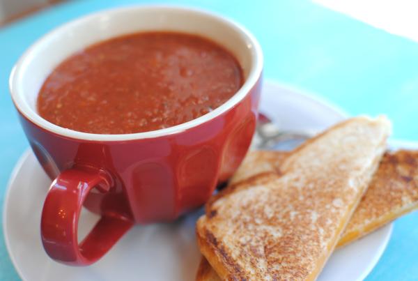 Homemade Tomato Soup 4 Homemade Tomato Soup