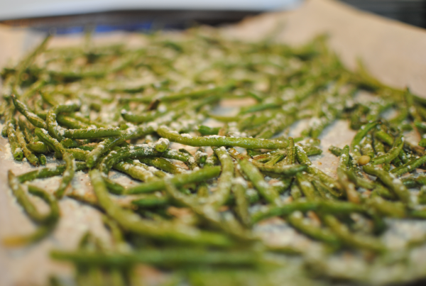 Oven Roasted Green Beans 4 Oven Roasted Green Beans