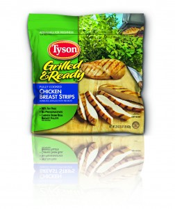 Tyson Grilled Ready Chicken Breast Strips jpeg 252x300 Things That Say Cluck: Dinner Made Easy