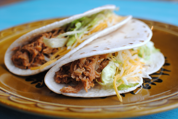 Crockpot Chicken Tacos | Pennywise Cook