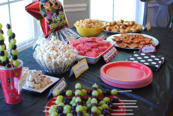 Mickey Party 6 Affordable Mickey Mouse Party