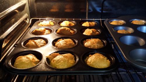Muffins in the Oven 2 Ingredient Pumpkin Muffins