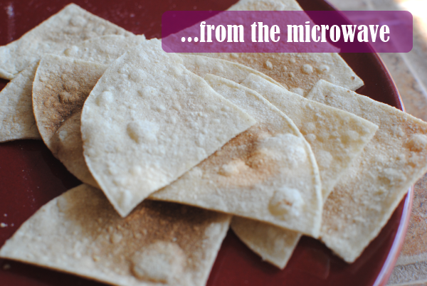 tortilla chips from the microwave Homemade Tortilla Chips: 3 Ways