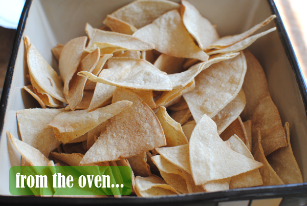 tortilla chips from the oven Homemade Tortilla Chips: 3 Ways