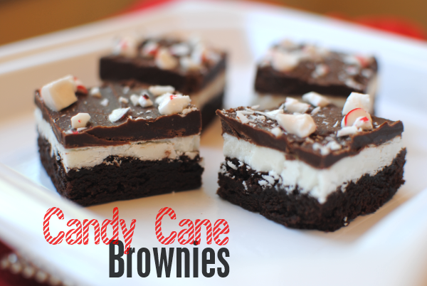Candy Cane Brownies 1