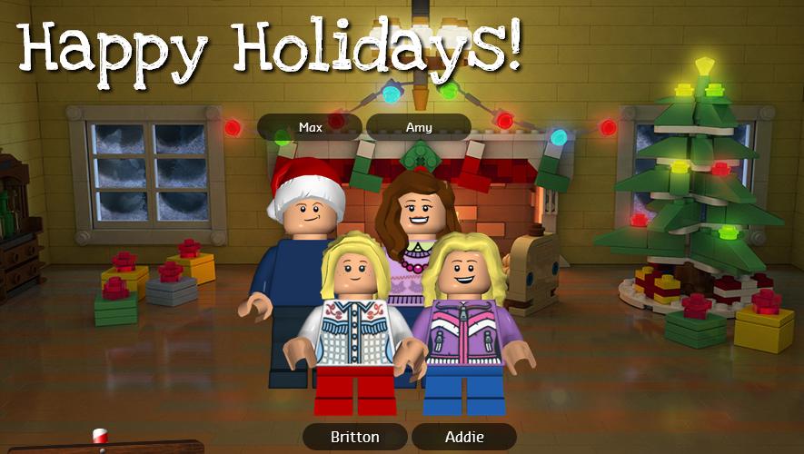 Lego Holiday Card Free LEGO Minifig Holiday Card