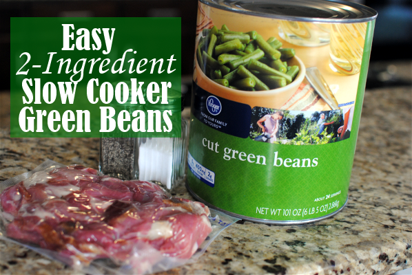 green beans 1 Easy Slow Cooker Green Beans