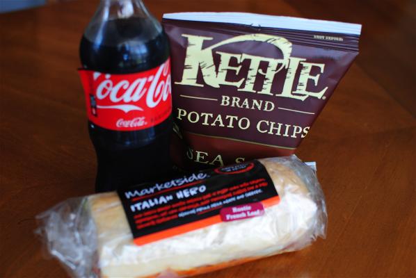 Chips Coke Sub
