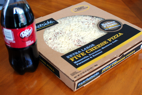 Pizza and DrPepper Effortless Back to School Meals