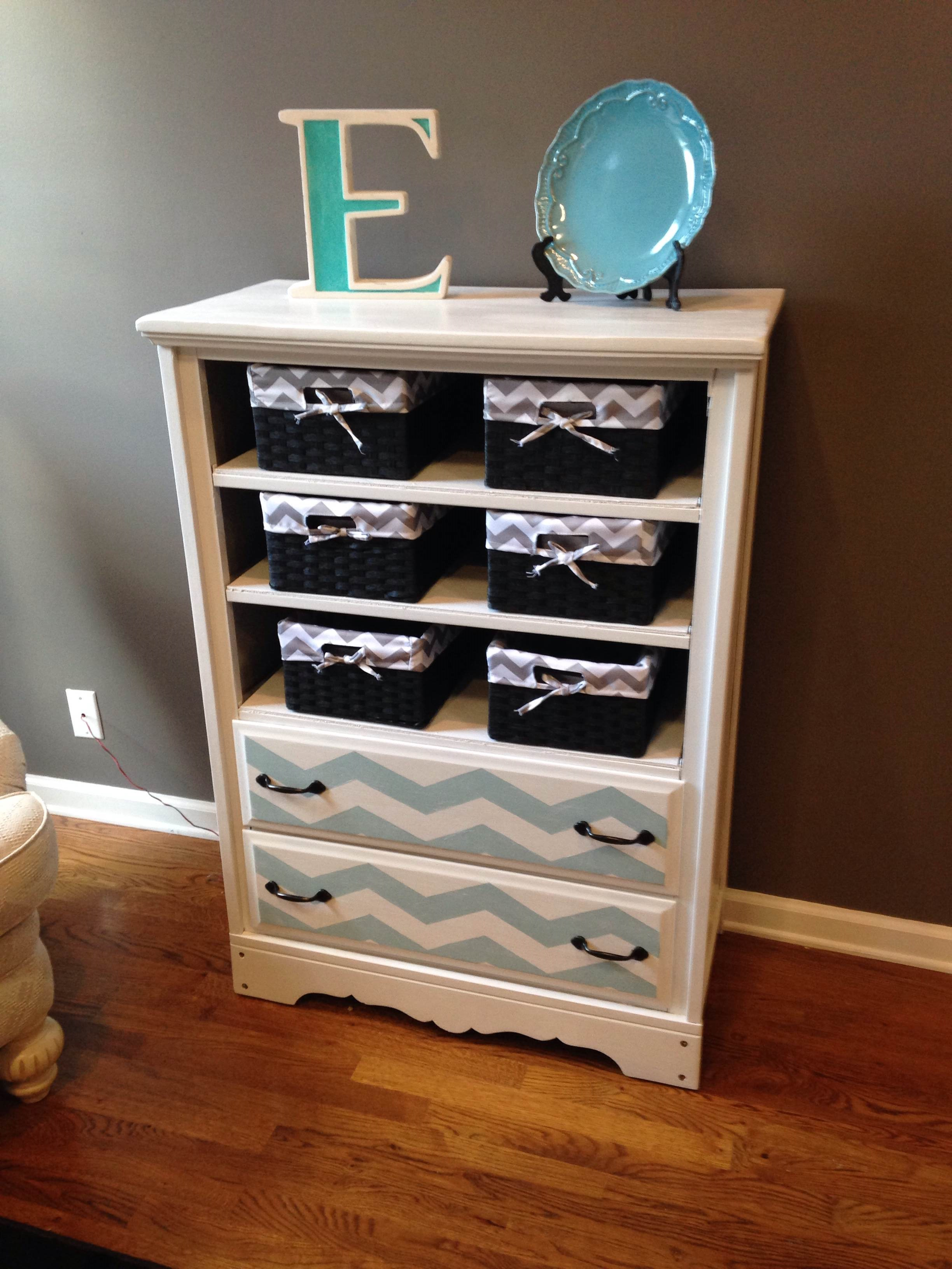 dresser with laundry baskets shelves home superb inspirations storage turning diy into basket