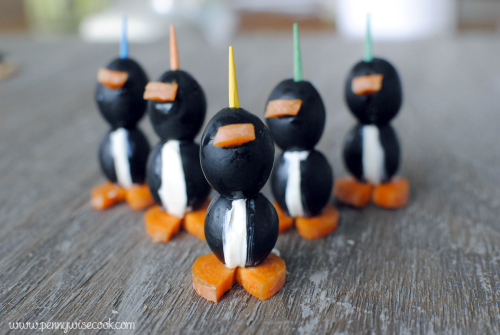 Olive Penguins Fun and Easy Crafts With Olives!